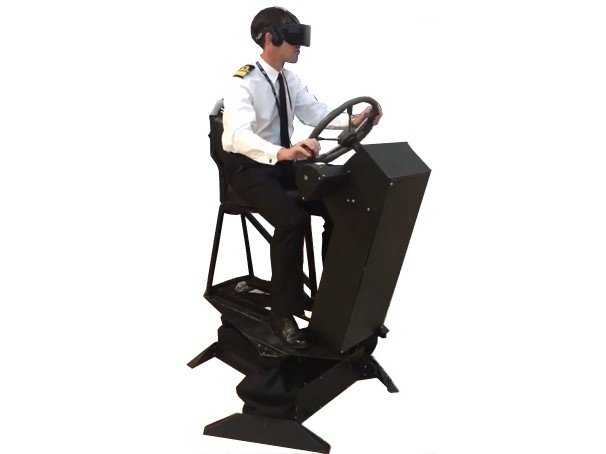 3-DoF Powerboat Simulator