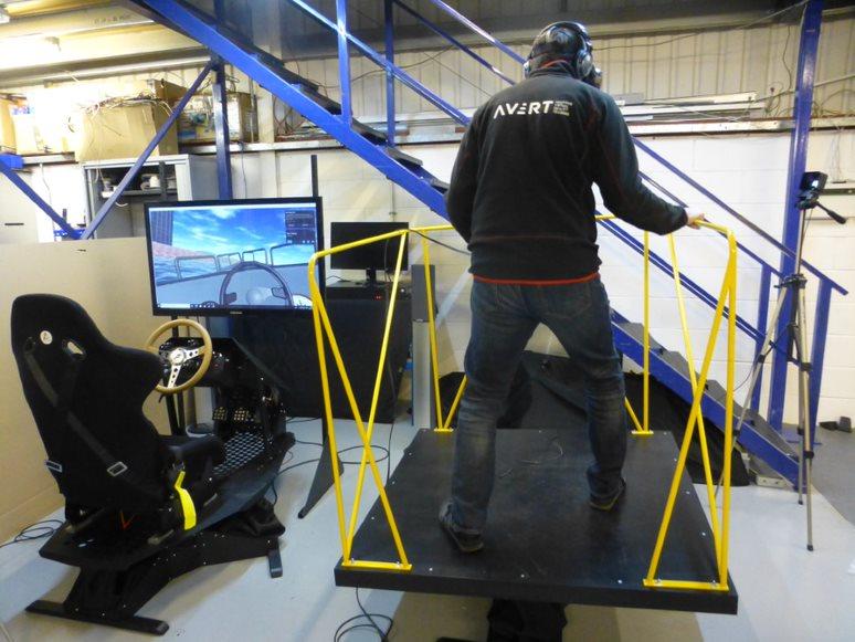 3-DoF Marine Simulator