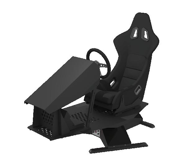 3-DoF Racing/Driving Simulator
