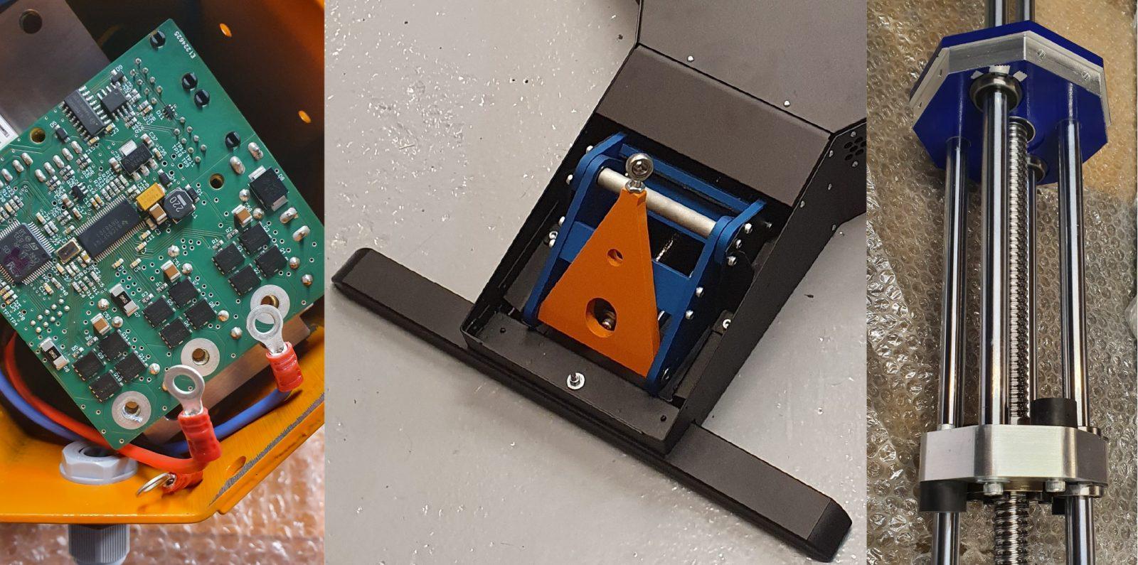 Delta Kinetic actuators