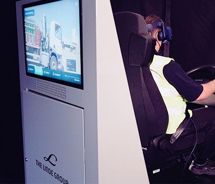 Linder Driver Training Simultor